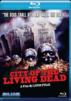 City of the Living Dead on Blu-ray (click for larger image)