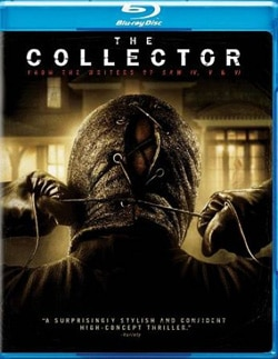 The Collector on Blu-ray and DVD (click for larger image)