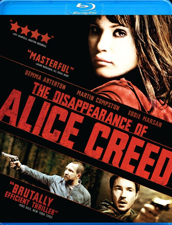 The Disappearance of Alice Creed on DVD