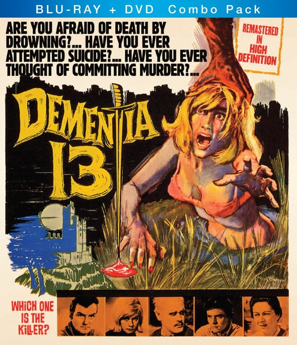 Dementia 13  (1963) on DVD