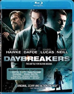 Daybreakers on Blu-ray and DVD (click for larger image)