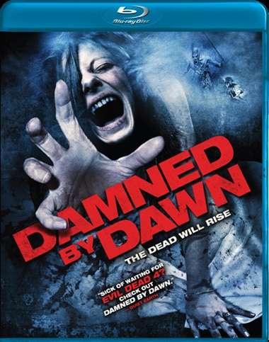 Damned By Dawn Blu-ray Art and Release Date