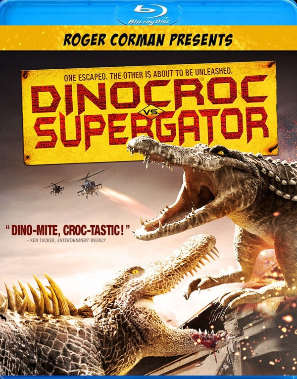 Dinocroc vs. Supergator - Blu-ray / DVD Trailer Debut