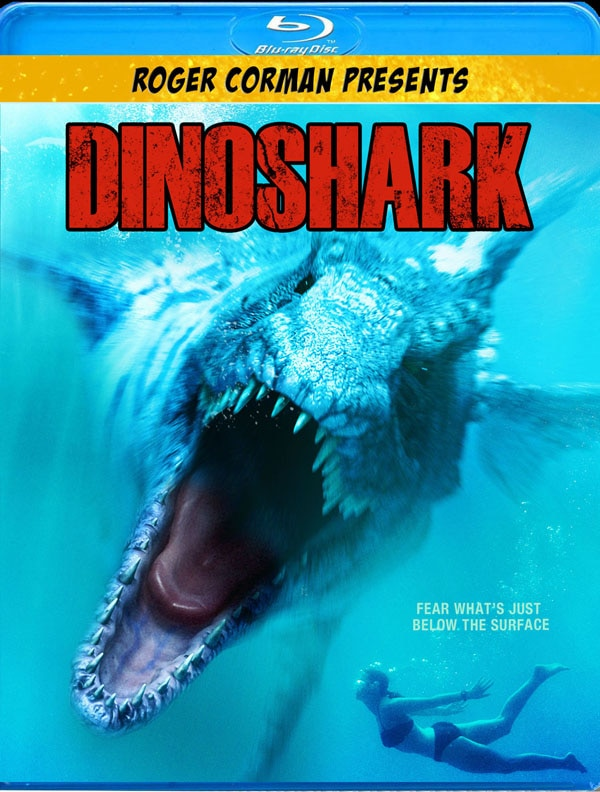 Dinoshark on DVD