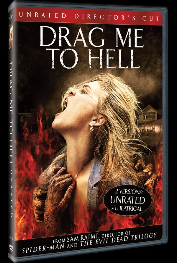Drag Me to Hell on DVD and Blu-ray (click for larger image)