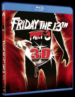 Friday the 13th Part 3 in 3D on Blu-ray
