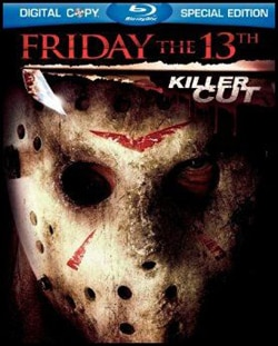 Friday the 13th (2009) on DVD and Blu-ray (Click here for larger image)
