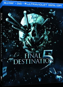 Final Destination 5 on Blu-ray and DVD