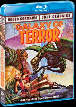Galaxy of Terror on Blu-ray and DVD