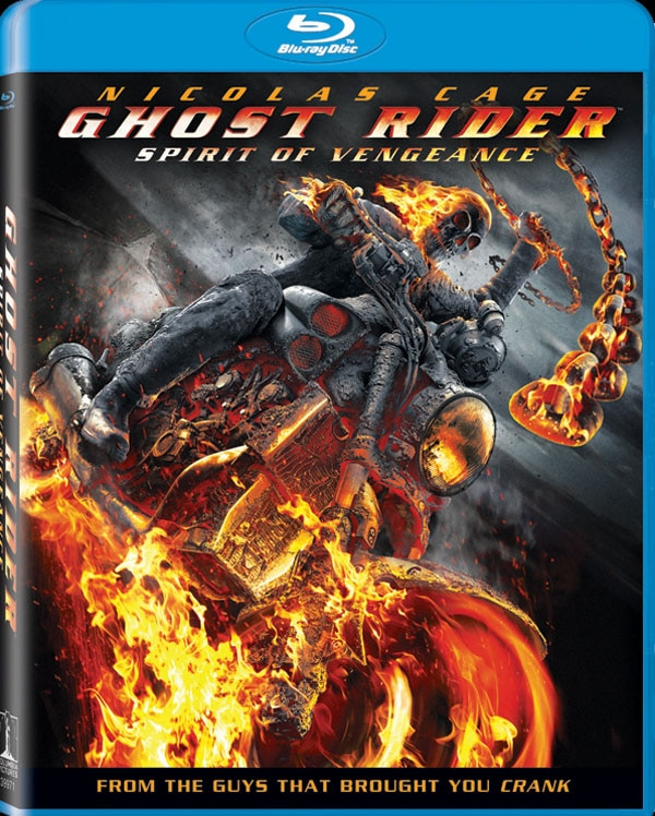 Ghost Rider: Spirit of Vengeance Ready to Burn Up Blu-ray and DVD
