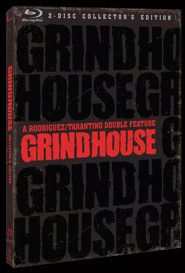 Official Art and Specs: The Grindhouse Experience on Blu-ray