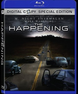 The Happening on Blu-ray and  DVD (click here for larger image!)