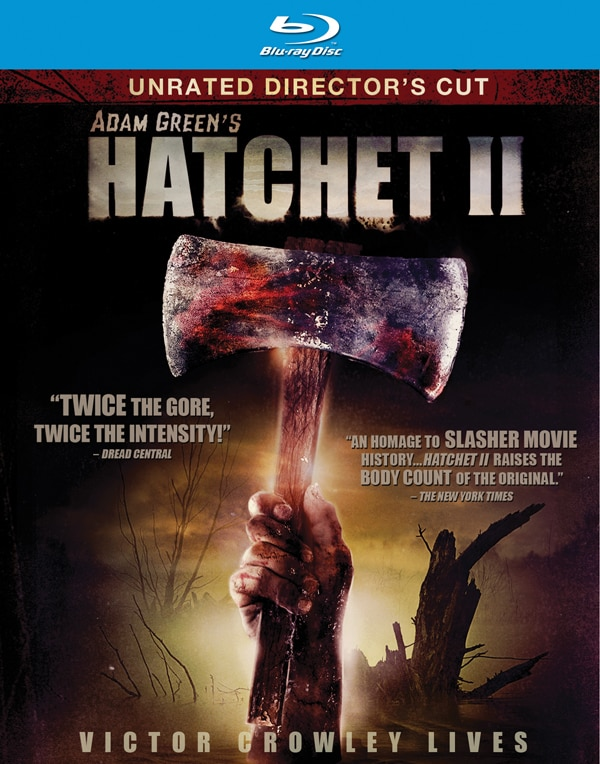Blu-ray and DVD Trailer Debut: Hatchet II