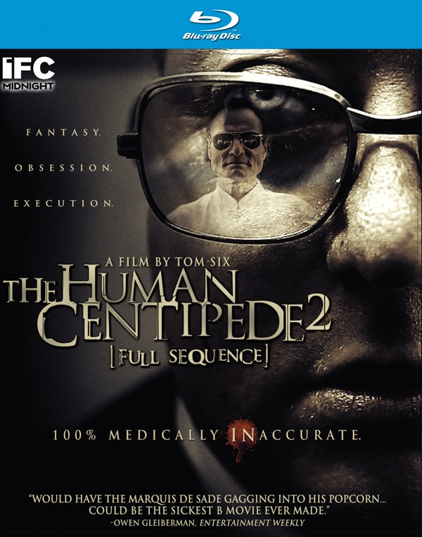 Official Artwork and Specs - The Human Centipede 2: Full Sequence