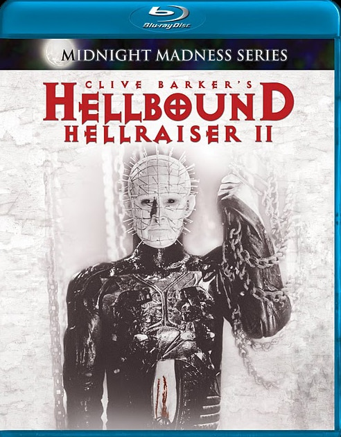 Blu-ray Artwork Debut: Hellbound: Hellraiser II