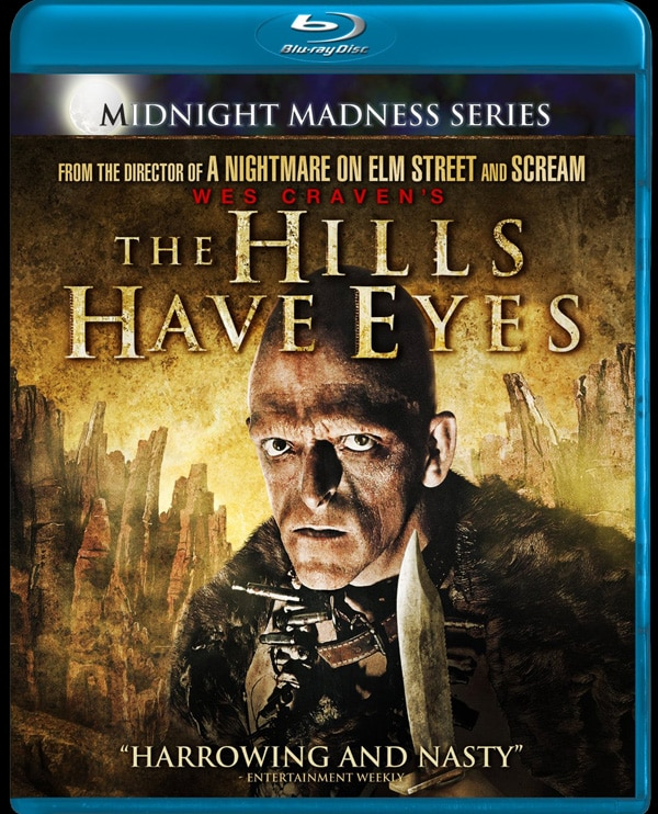 Blu-ray Cover Art: Wes Craven's The Hills Have Eyes