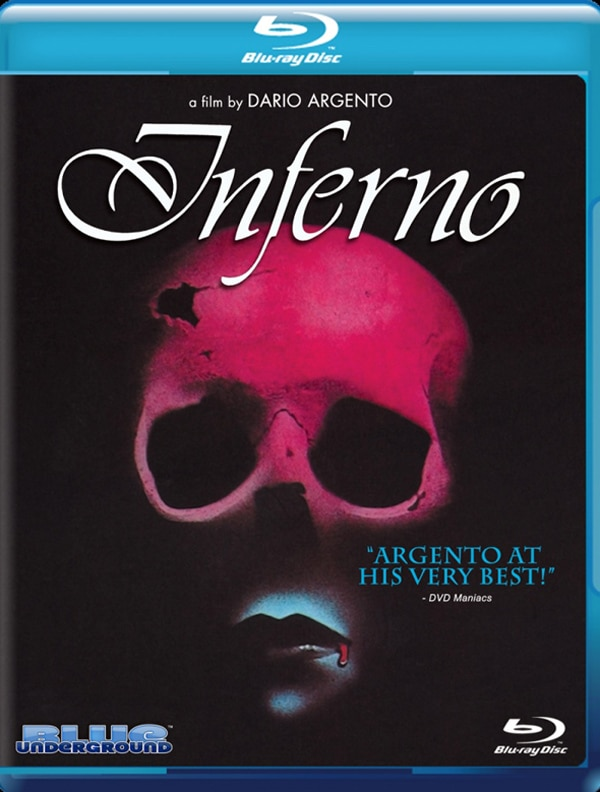 Dario Argento's Inferno on DVD