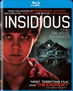 Insidious on Blu-ray and DVD