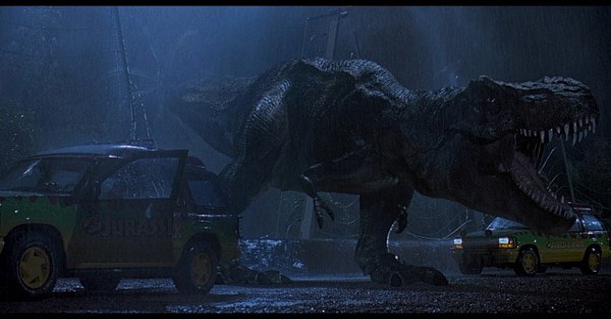 Jurassic Park Trilogy on Blu-ray