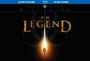 I Am Legend: Ultimate Collector's Edition on Blu-ray and DVD (click for larger image