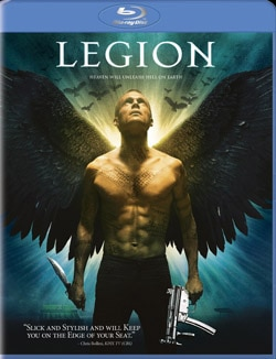 Legion on Blu-ray and DVD (click for larger image)