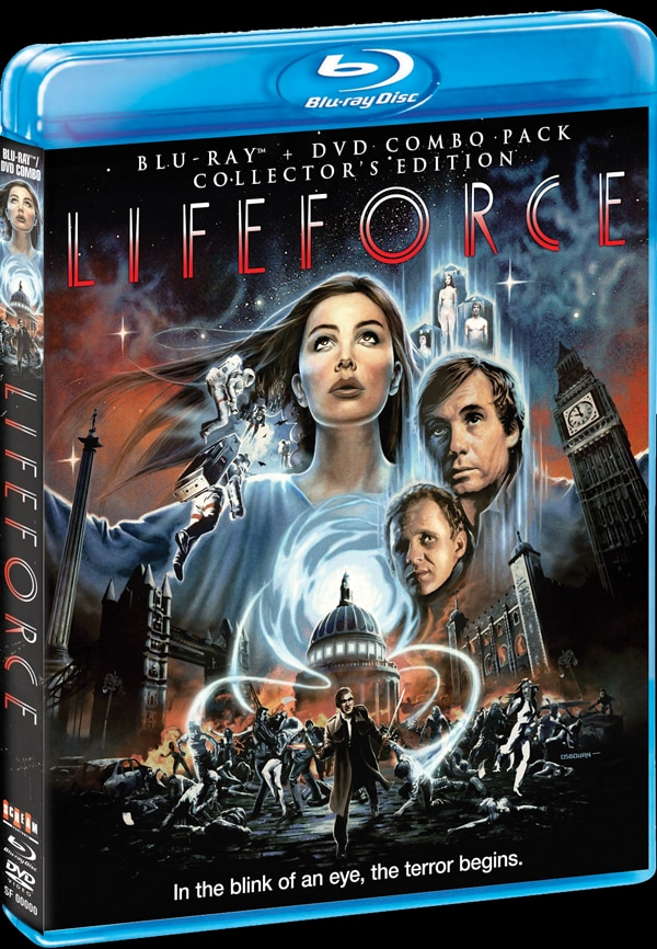 Lifeforce (Collector's Edition Blu-ray / DVD Combo) - Dread Central