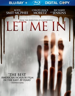 Let Me In on Blu-ray and DVD (click for larger image)