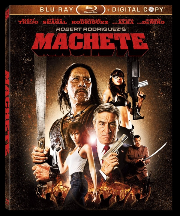 Machete on DVD