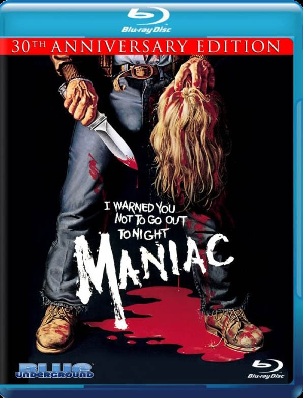 Maniac Officially Hitting Blu-ray! Artwork and Specs Announced!