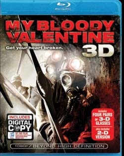 My Bloody Valentine 3D on DVD and Blu-ray
