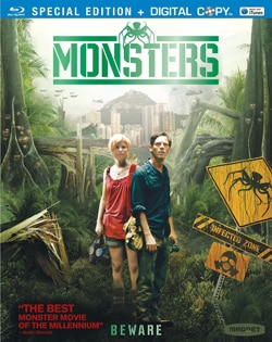 Monsters on Blu-ray and DVD