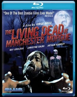 The Living Dead at Manchester Morgue  Blu-ray (click for larger image)