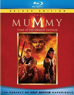 The Mummy: Tomb of the Dragon Emperor on Blu-ray and DVD