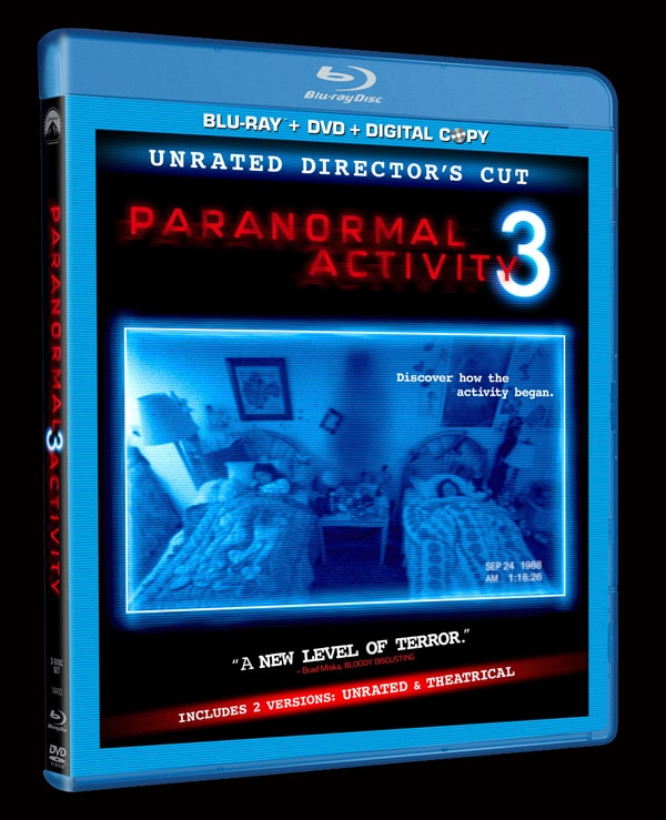First Review: Paranormal Activity 3 Unrated Extended Cut
