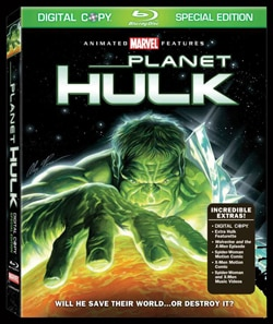 Planet Hulk on DVD and Blu-ray