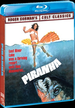 Piranha on Blu-ray and DVD
