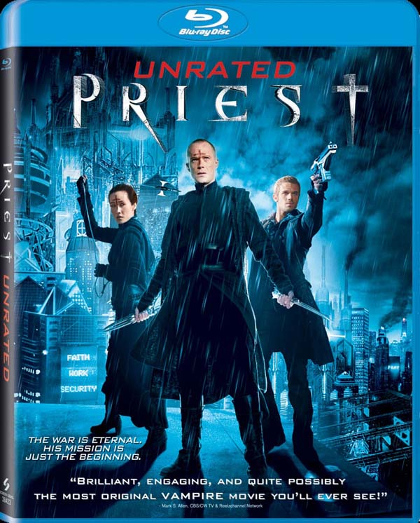 Priest 3D to Crucify us on Blu-ray and DVD - First Look at the Artwork and More!