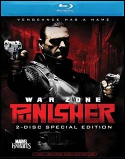 Punisher: War Zone on Blu-ray and DVD