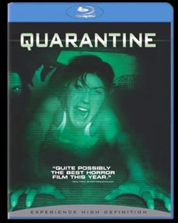 Quarantine on DVD and Blu-ray