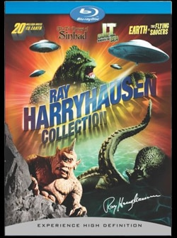 The Ray Harryhausen Collection on Blu-ray (click for larger image)