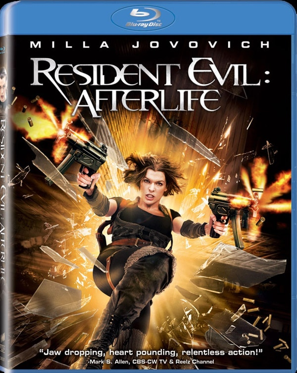 Resident Evil: Afterlife Comes Home for the Holidays