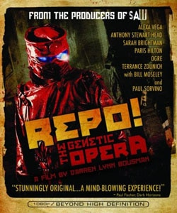 Repo! The Genetic Opera on DVD and Blu-ray (click for larger image)
