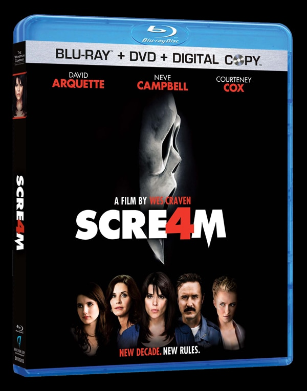 Win a Copy of Scream 4 on Blu-ray and DVD