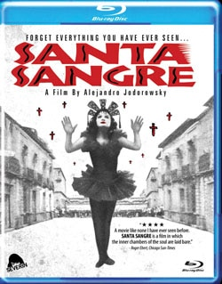 Santa Sangre on Blu-ray and DVD