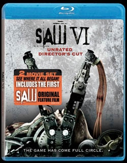 Saw VI on Blu-ray and DVD