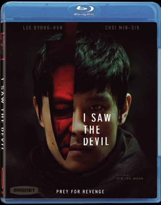 I Saw the Devil Hits Blu-ray and DVD
