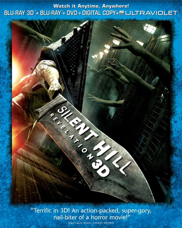 Be Silenced by the Home Video Artwork for Silent Hill: Revelation