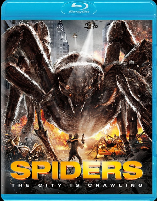Spiders - Cities Announced and Engulfed in Web for Theatrical Run