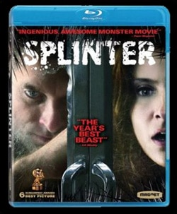 Splinter on Blu-ray and DVD (click for larger image)
