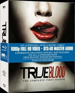 True Blood - Season 1 on Blu-ray and DVD (click for larger image)